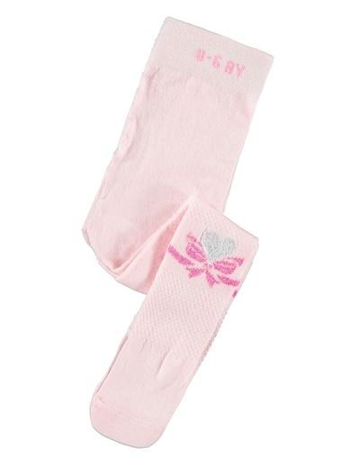Civil Baby Kız Bebek Külotlu Çorap Pembe
